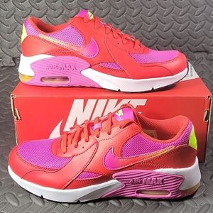 Nike Air Max Excee SE1 Chili Red Women Size 8.5